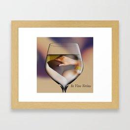 In Vino Veritas Framed Art Print
