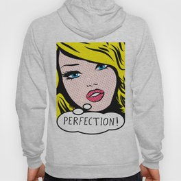 Perfection Pop Art Girl Hoody