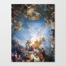 Château de Versailles Hercules Room Ceiling Canvas Print