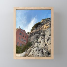 French Riviera Nice Framed Mini Art Print