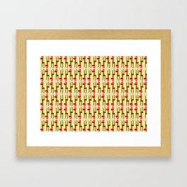 Girafs Framed Art Print