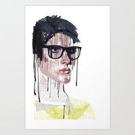 Mr.Love Art Print