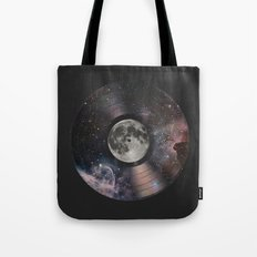 L.P. (Lunar Phonograph) Tote Bag