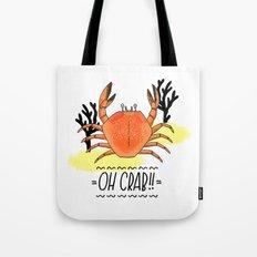 Oh Crab! Illustration Tote Bag