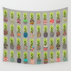Pineapple Party Wall Tapestry