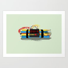 Even ideas bomb Art Print