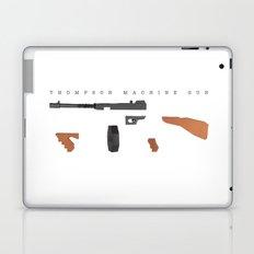 Thompson Machine Gun Laptop & iPad Skin