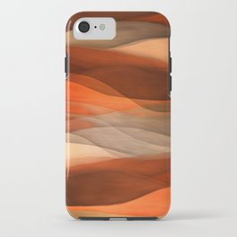"""Sea of sand and caramel waves"" iPhone Case"