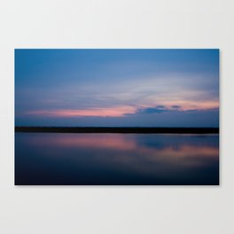 Magenta Bay Canvas Print
