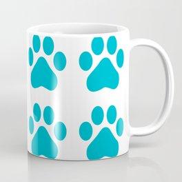 Huellas de gato Coffee Mug