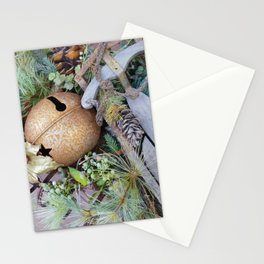 Sleigh Bell Stationery Cards