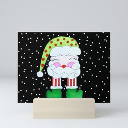 Santa Mini Art Print