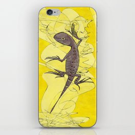 Frank the Lizard iPhone Skin