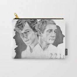 Sherlock & John Carry-All Pouch