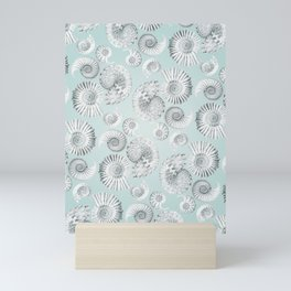 Aquatic Pattern Mini Art Print