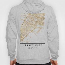 JERSEY CITY NEW JERSEY STREET MAP ART Hoody