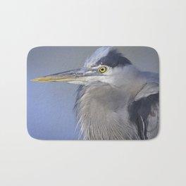 Great Blue Heron Bath Mat