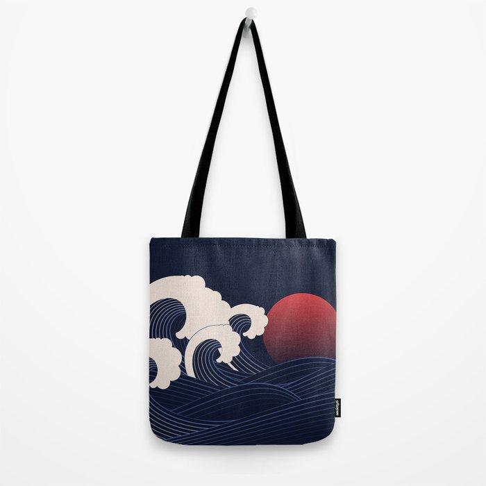 Japanese Sunset Tote Bag