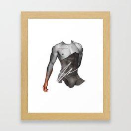 HANDSOME SMUGGLE BY ROBERT DALLAS Framed Art Print