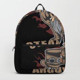 Steamrolling Arguments Steampunk Backpack