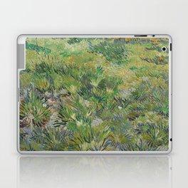 Long Grass with Butterflies Laptop & iPad Skin
