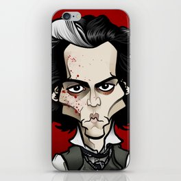 Sweeney iPhone Skin
