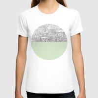 circle T-shirts featuring Circle by David Fleck