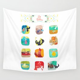 Fables  Wall Tapestry