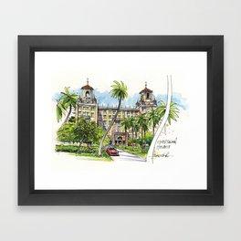 Hotel Nacional de Cuba, Havana Framed Art Print
