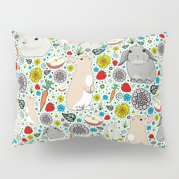 Bunny Rabbits Pillow Sham