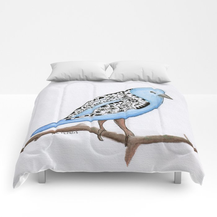 Little Blue Bird Comforters