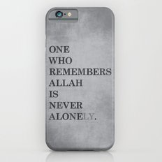 One Who Remembers Allah iPhone 6s Slim Case