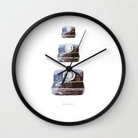 polaroid Wall Clocks featuring Polaroid by Lara Trimming