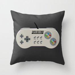 super sicktendo Throw Pillow