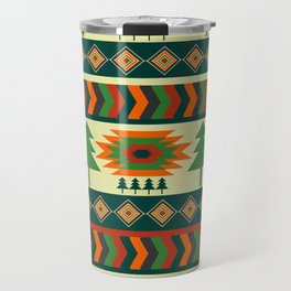 Ethnic traditional Christmas decor Travel Mug
