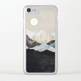 Silent Dusk Clear iPhone Case