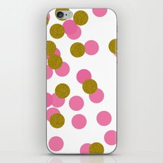 Confetti iPhone & iPod Skin