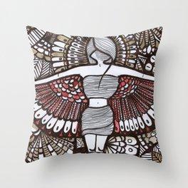 Freedom Feeling Throw Pillow