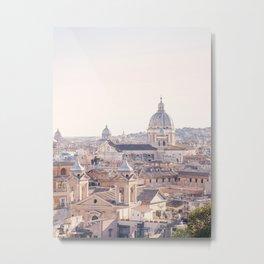 Roman Sunrise - Rome Italy Travel Photography Metal Print