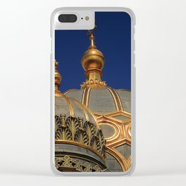 Berlin Synagogue Dome Clear iPhone Case