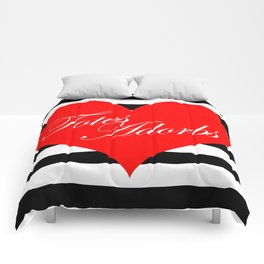Totes Adorbs Red Heart  Comforters