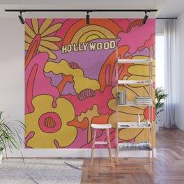 Hollywood Rainbow Garden Wall Mural
