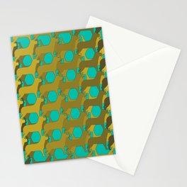"""Dog Eat Dog Pattern"" Stationery Cards"