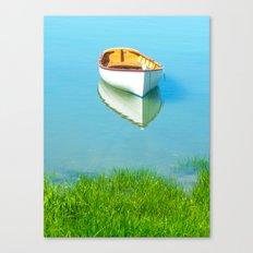 Serene boat scene#1 Canvas Print