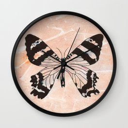 Ethereal Butterfly Wall Clock