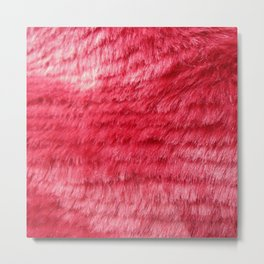FEELING ALL PINK AND FUZZY Metal Print
