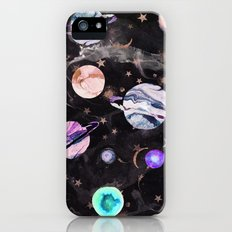 Marble Galaxy iPhone SE Slim Case