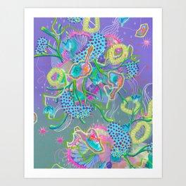Alien Organism 15 Art Print