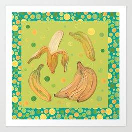 Gone Bananas Art Print