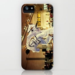 Traditional sparring - Taekwon-do ITF iPhone Case